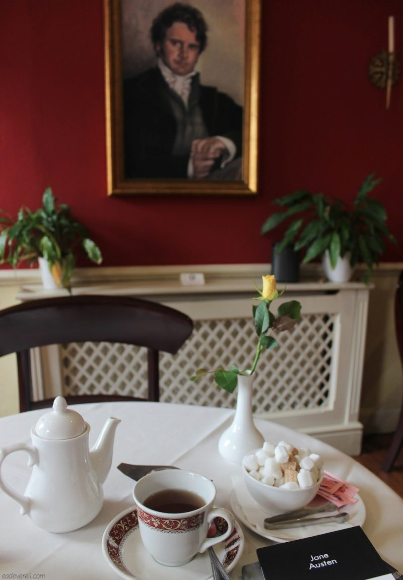 Tea with Mr. Darcy at the Jane Austen Centre Tea Rooms