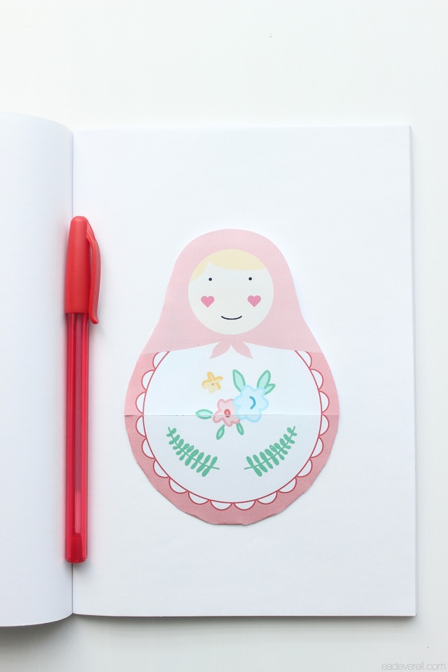 Matryoshka Notebook