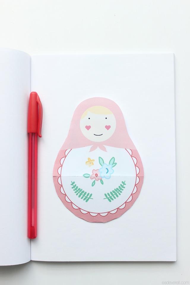 Matryoshka Notebook