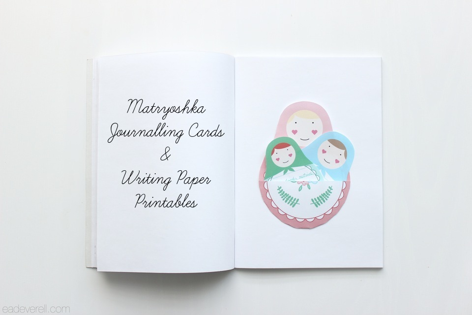 Matryoshka Journalling Cards