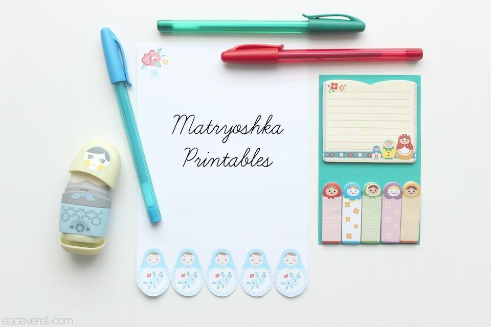 Matryoshka Printables