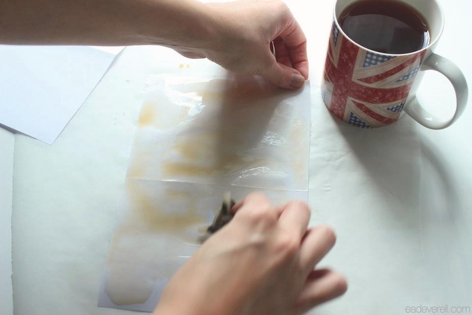 Tea Dyeing