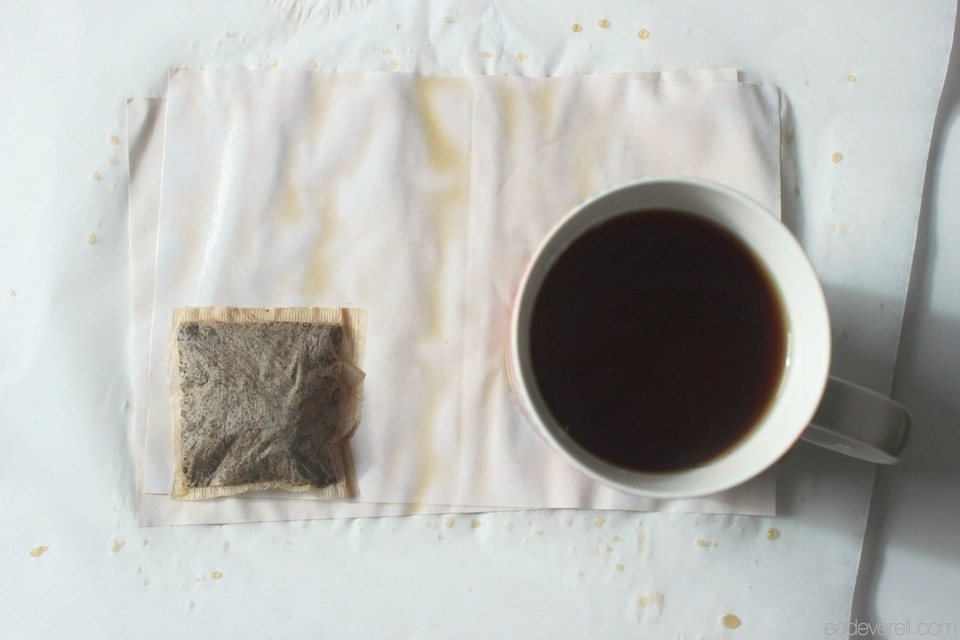 Tea Stained Paper
