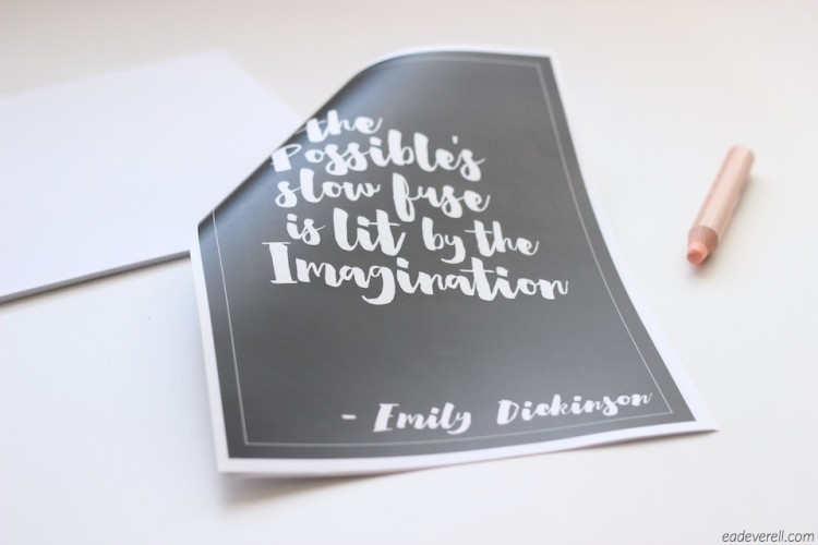 Emily DIckinson quotation