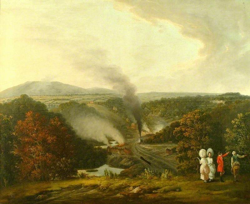 William Williams - Afternoon View of Coalbrookdale