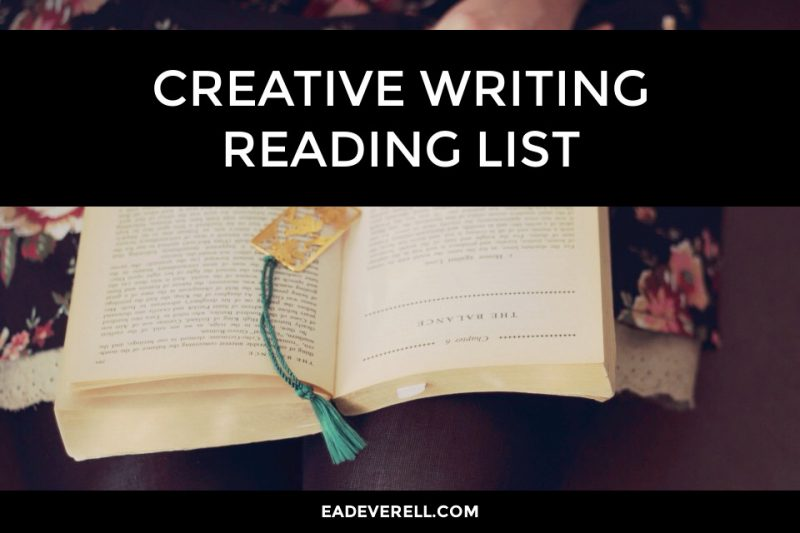 Creative Writing Reading List