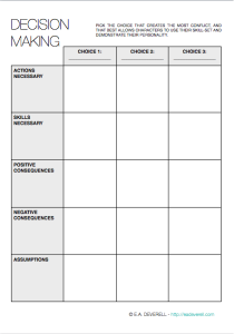 Printables Decision Making Worksheet decision making writing worksheet wednesday creative worksheet