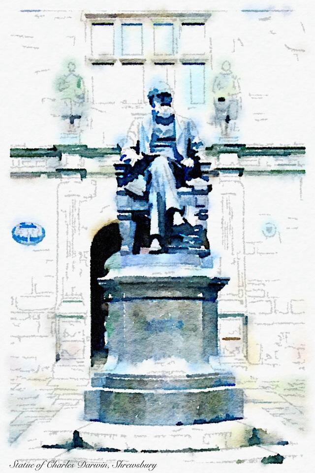 Charles Darwin, Shrewsbury