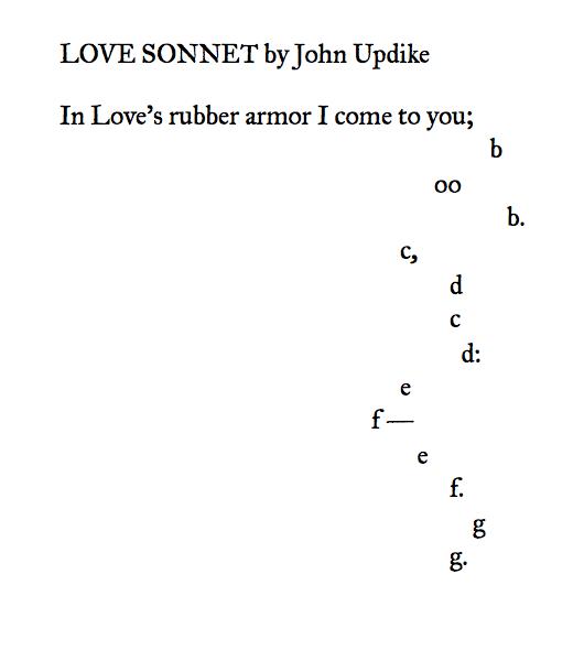 Love poem creative