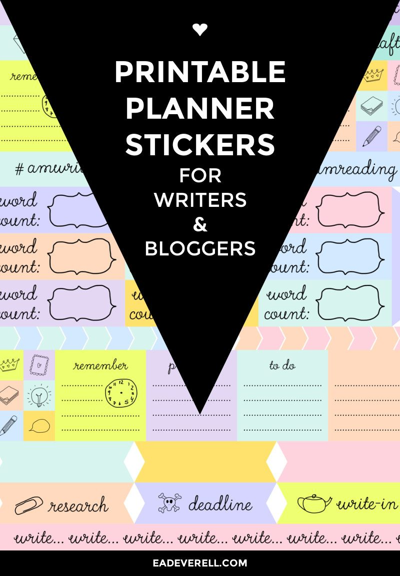 Writers planner