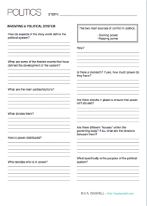 Writing Worksheet