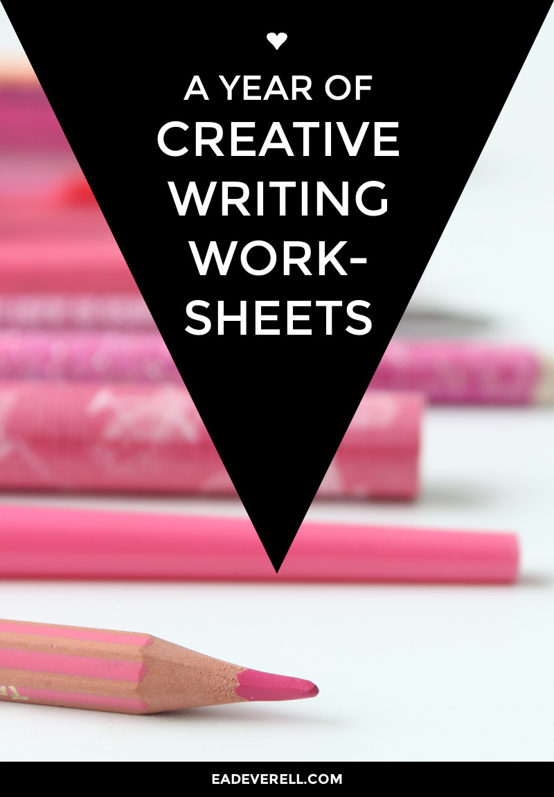 Creative Writing Worksheets – Character Building Worksheets